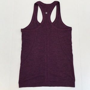 Lululemon Purple Swifly Tech Racerback